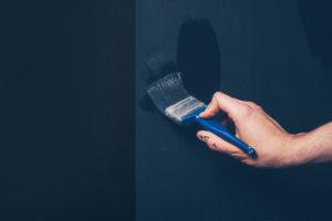 Couleur de peinture qui a été choisi avec l'entrepreneur peintre